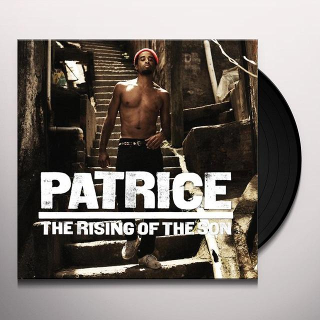 Patrice RISING OF THE SON (BONUS CD) Vinyl Record