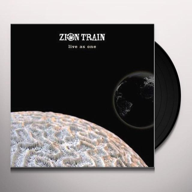Zion Train LIVE AS ONE Vinyl Record