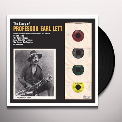 Professor Earl Lett STORY OF Vinyl Record