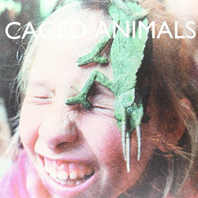 Caged Animals IN THE LAND OF GIANTS Vinyl Record