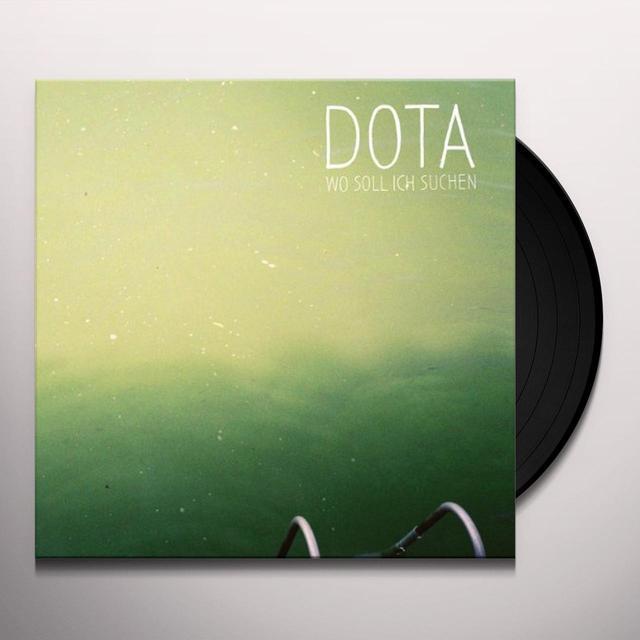 Dota WO SOLL ICH SUCHEN Vinyl Record