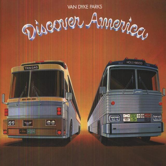 Van Dyke Parks DISCOVER AMERICA (GER) Vinyl Record