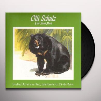Olli Schultz BRICHST DU MIR DAS HERZ Vinyl Record - Holland Import