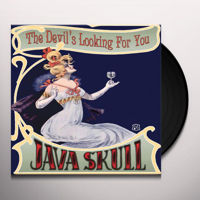 Java Skull DEVIL'S LOOKING FOR YOU Vinyl Record