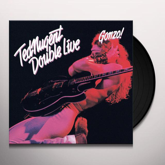 Ted Nugent DOUBLE LIVE GONZO Vinyl Record