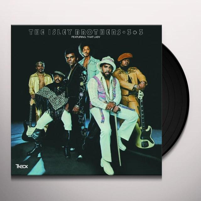 The Isley Brothers 3 PLUS 3 Vinyl Record