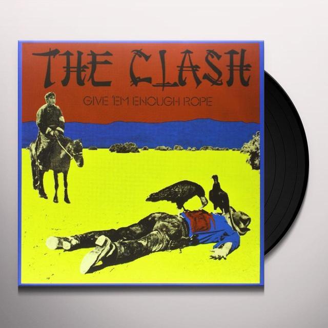 The Clash GIVE EM ENOUGH ROPE Vinyl Record - 180 Gram Pressing