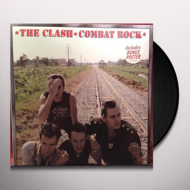 The Clash COMBAT ROCK Vinyl Record - 180 Gram Pressing