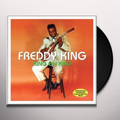 Freddie King KING ON KING Vinyl Record - UK Import