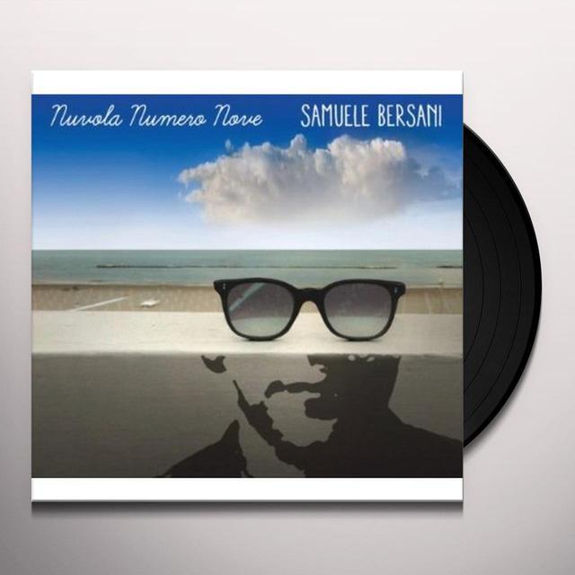 Samuele Bersani NUVOLA NUMERO NOVE Vinyl Record