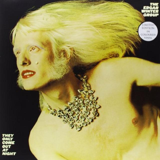 Edgar Winter THEY ONLY COME OUT AT NIGHT Vinyl Record