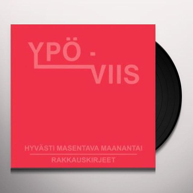 Ypo-Viis HYVASTI MASENTAVA MAANANTAI Vinyl Record