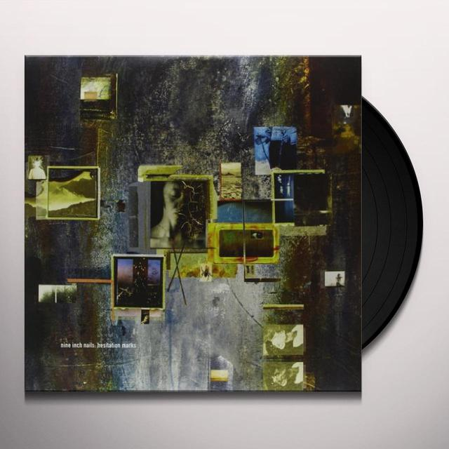 Nine Inch Nails HESITATION MARKS (BONUS CD) Vinyl Record