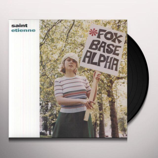 Saint Etienne FOXBASE ALPHA Vinyl Record