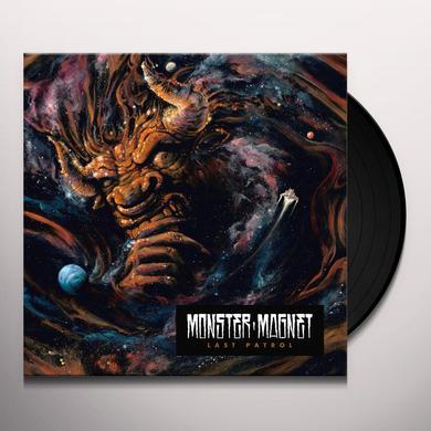 Monster Magnet LAST PATROL Vinyl Record