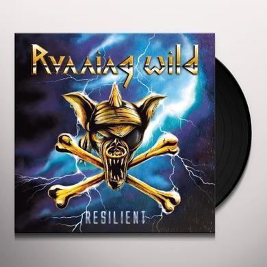 Running Wild RESILIENT Vinyl Record - w/CD