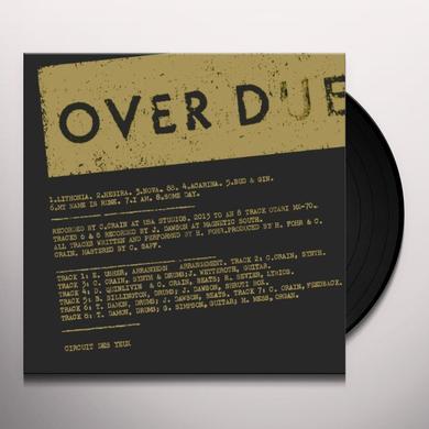 Circuit Des Yeux OVERDUE Vinyl Record
