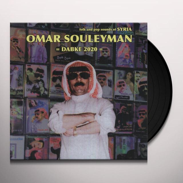 Omar Souleyman DABKE 2020: FOLK & POP SOUNDS OF SYRIA Vinyl Record