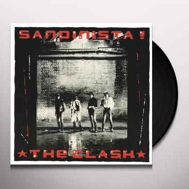 The Clash SANDINISTA Vinyl Record