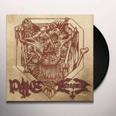 Entrapment / Pyre SPLIT (EP) Vinyl Record - Limited Edition