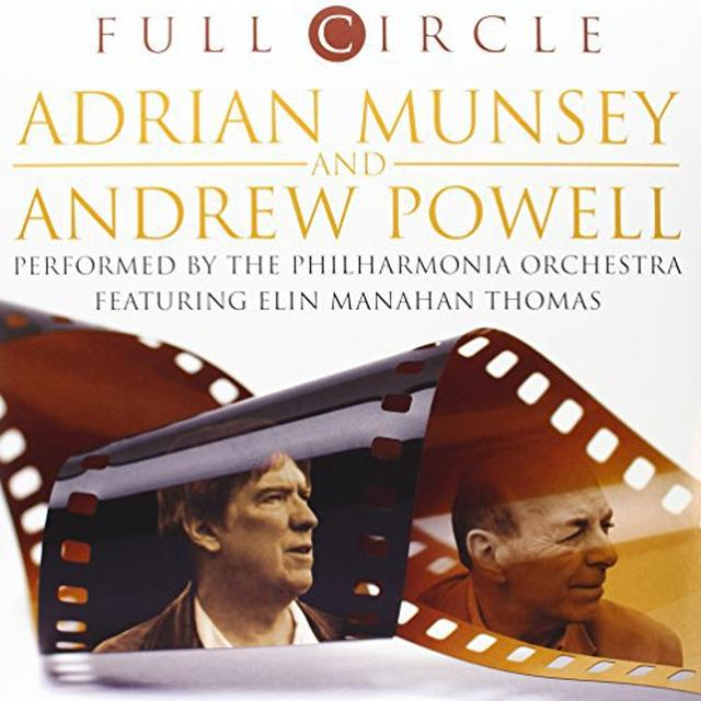 Adrian Munsey / Andrew Powell FULL CIRCLE Vinyl Record