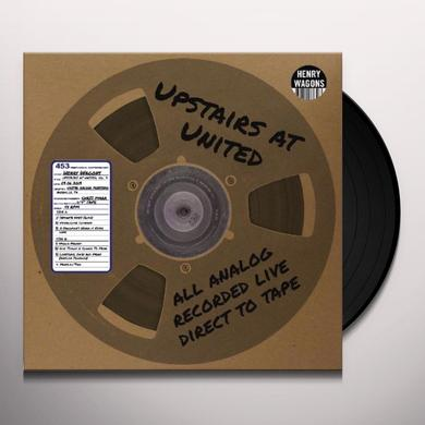 Henry Wagons UPSTAIRS AT UNITED 9 Vinyl Record