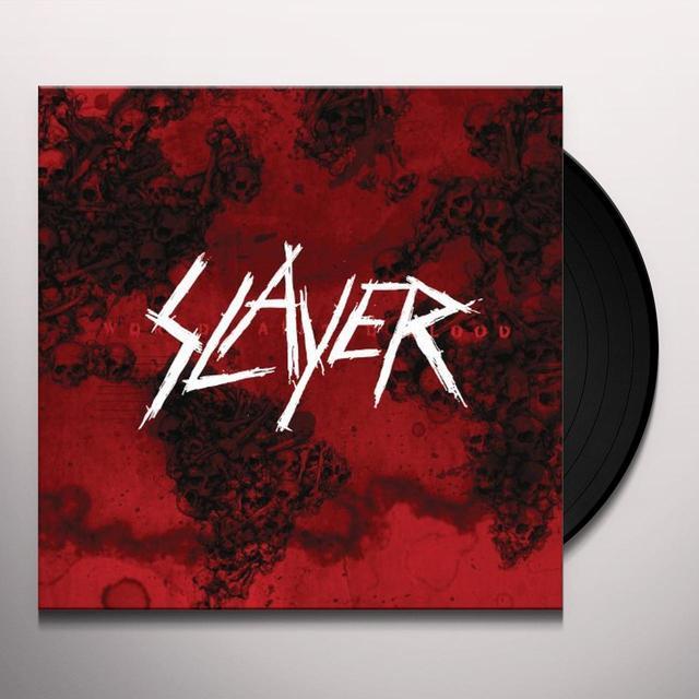 Slayer WORLD PAINTED BLOOD Vinyl Record