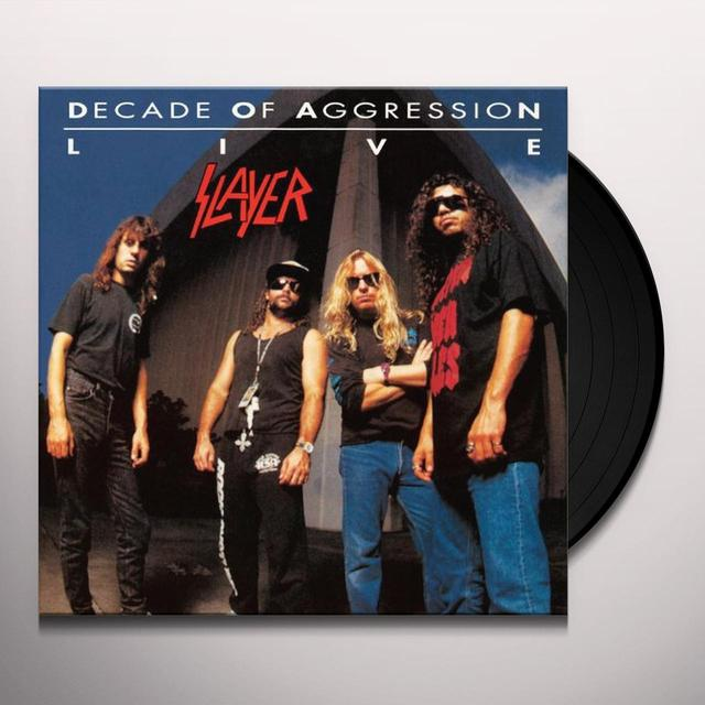 Slayer LIVE: DECADE OF AGGRESSION Vinyl Record