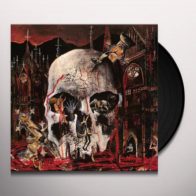 Slayer SOUTH OF HEAVEN Vinyl Record