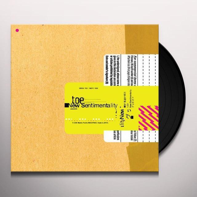 Toe NEW SENTIMENTALITY Vinyl Record