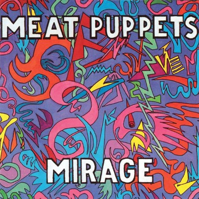 Meat Puppets MIRAGE Vinyl Record