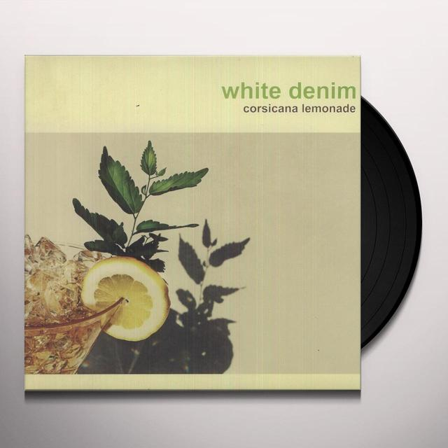 White Denim CORSICANA LEMONADE Vinyl Record
