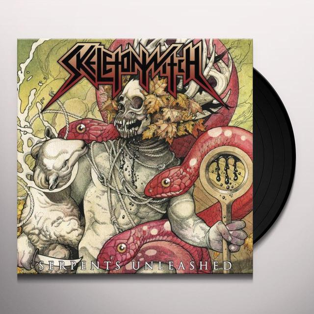 Skeletonwitch SERPENTS UNLEASHED Vinyl Record - Limited Edition, 180 Gram Pressing, Digital Download Included