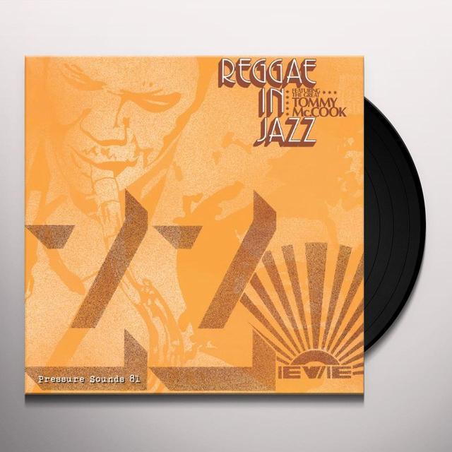 Tommy Mccook REGGAE IN JAZZ Vinyl Record