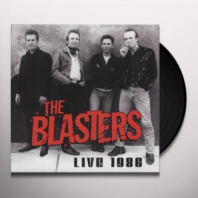 Blasters LIVE 1986 Vinyl Record
