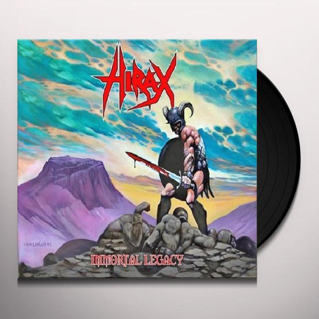 Hirax IMMORTAL LEGACY Vinyl Record