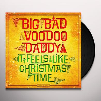Big Bad Voodoo Daddy IT FEELS LIKE CHRISTMAS TIME Vinyl Record