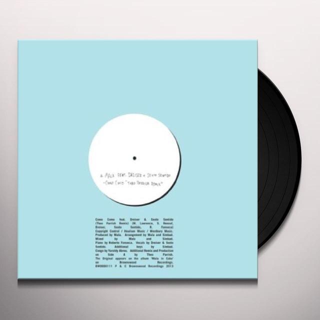 Mala COMO COMO (THEO PARRISH REMIX) Vinyl Record