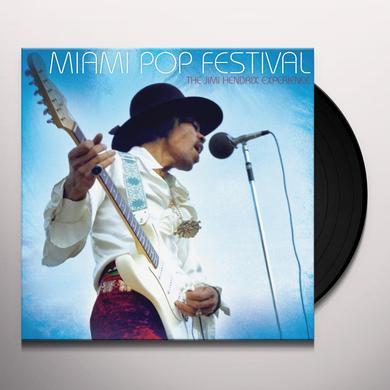 Jimi Hendrix MIAMI POP FESTIVAL Vinyl Record