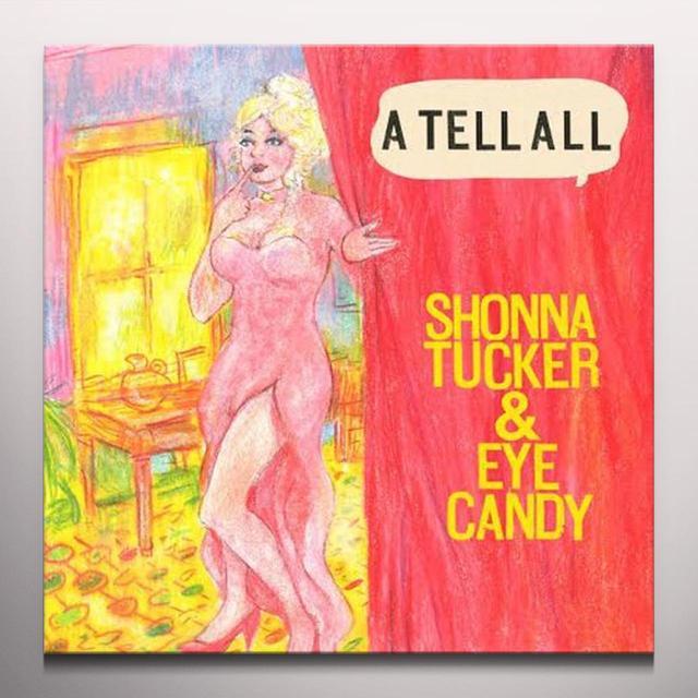 Shonna Tucker TELL ALL Vinyl Record - Colored Vinyl, Digital Download Included