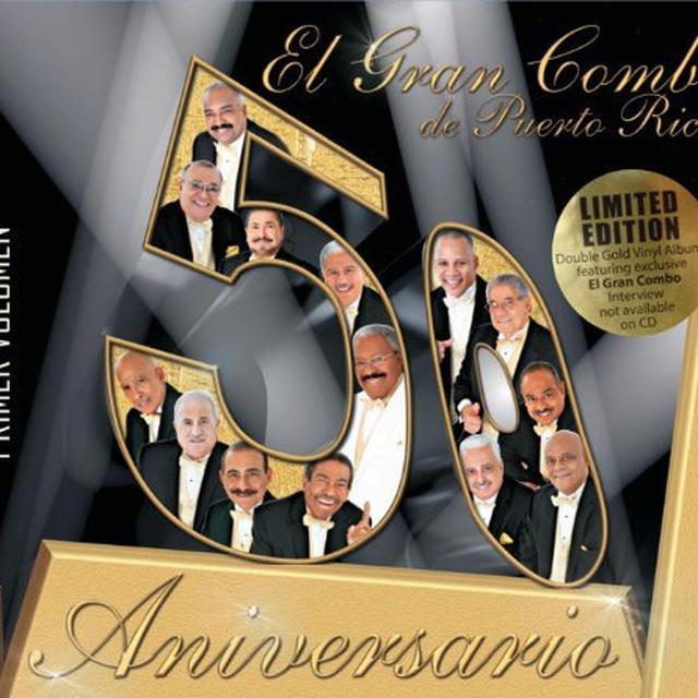 Gran Combo De Puerto Rico 50 ANIVERSARIO 1 Vinyl Record