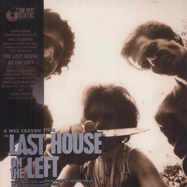David (Ltd) (Dlx) (Pict) Hess LAST HOUSE ON THE LEFT / O.S.T. Vinyl Record - Limited Edition, Picture Disc, Deluxe Edition