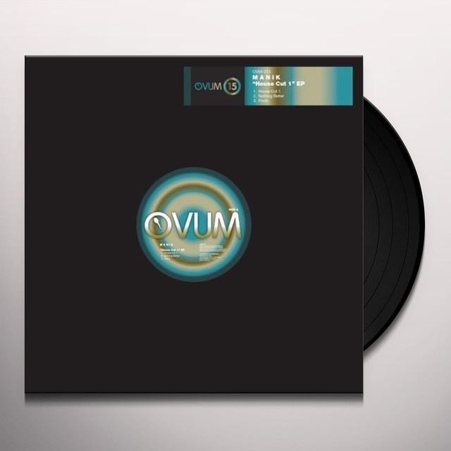 Manik HOUSE CUT 1 (EP) Vinyl Record