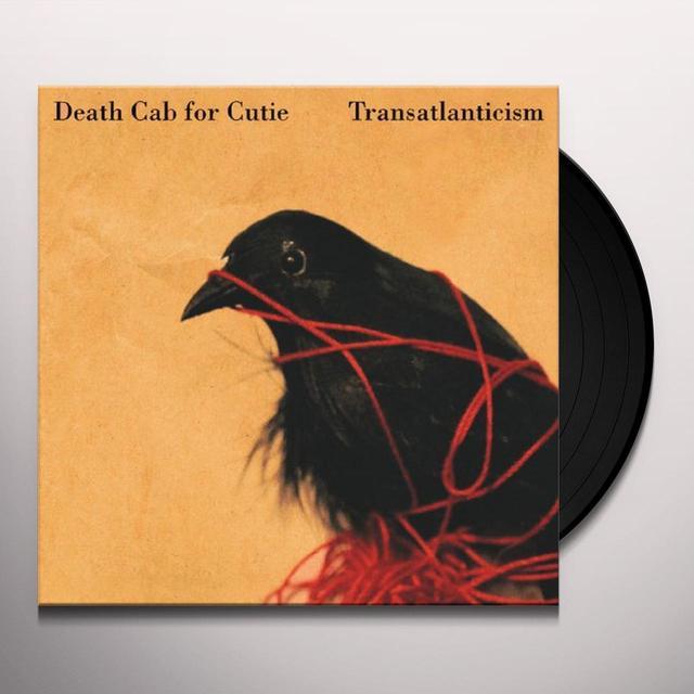 Death Cab For Cutie TRANSATLANTICISM Vinyl Record - 180 Gram Pressing, Anniversary Edition