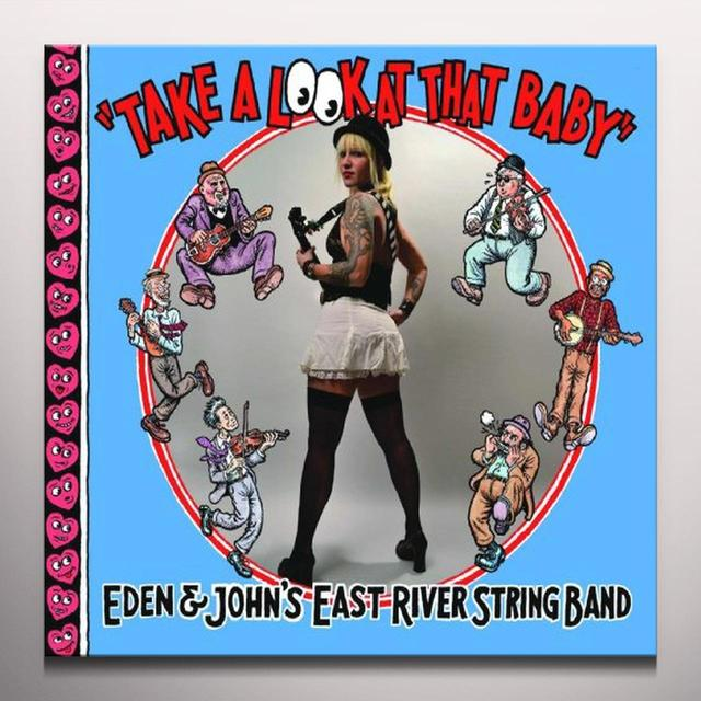 East River String Band TAKE A LOOK AT THAT BABY Vinyl Record - Colored Vinyl