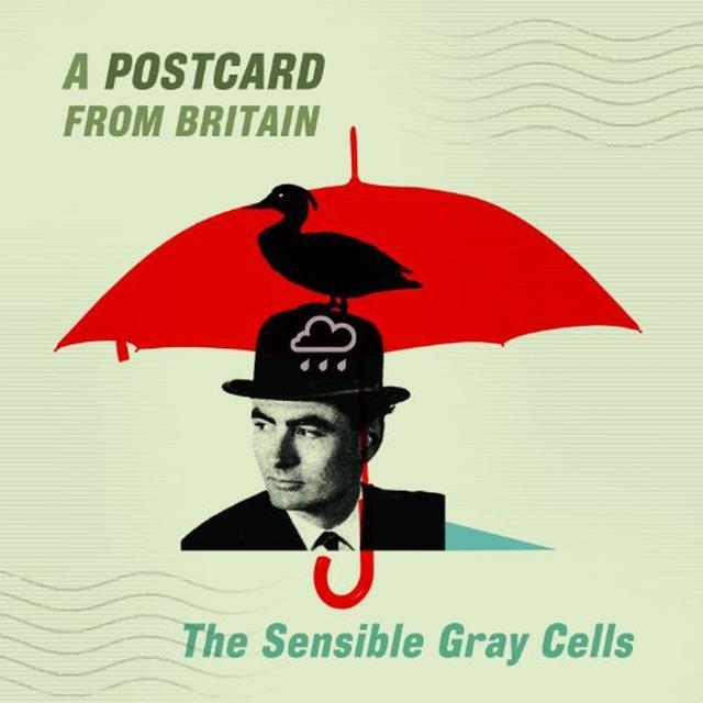 Sensible Gray Cells POSTCARD FROM BRITAIN Vinyl Record - Colored Vinyl