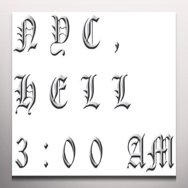 James Ferraro NYC HELL 3:00 AM Vinyl Record - Clear Vinyl