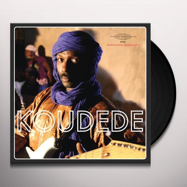 Koudede GUITARS FROM AGADEZ 7 Vinyl Record