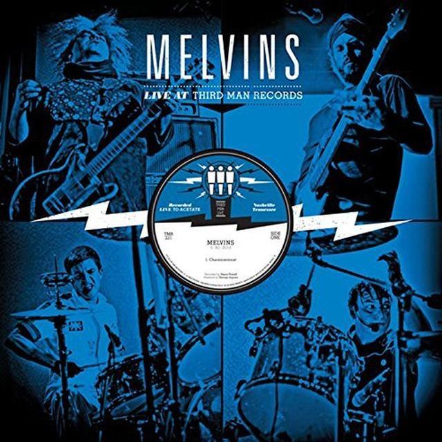 Melvins LIVE AT THIRD MAN RECORDS 05-30-2013 Vinyl Record