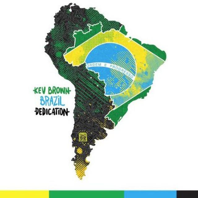 Kev Brown BRAZIL DEDICATION Vinyl Record